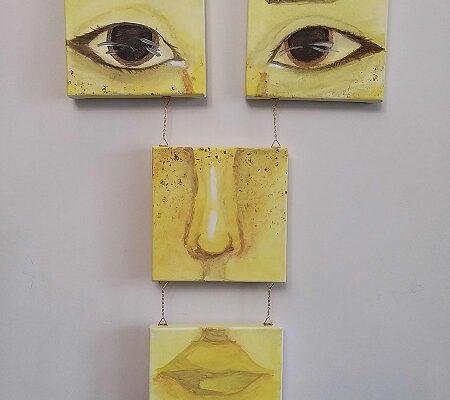 site Xenia Bohan - (RE)contructie Portret - 4 x 20 x 20